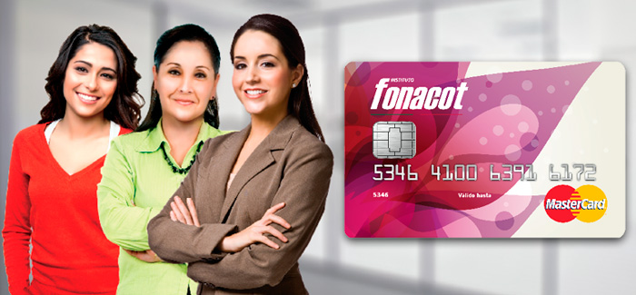 tarjeta fonacot mujer